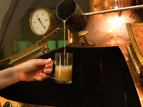 Martinerhof Hotel, Brauerei