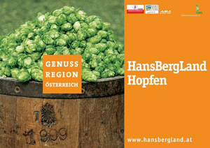 """Ernstinger Wirtsbräu, Hopfen Mühlviertler GenussRegion """"Hansbergland"""""""