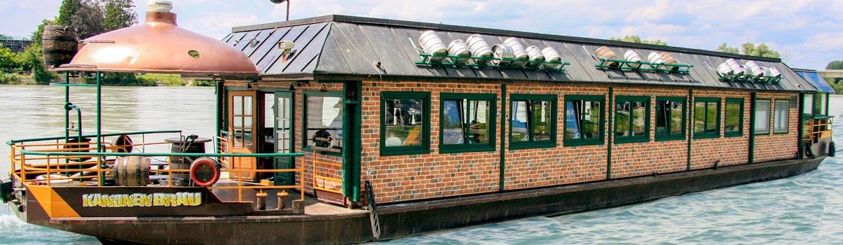 Kanonenbräu - Die erste schwimmende Brauerei Europas